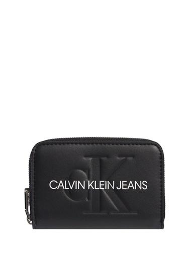 Calvin Klein Calvin Klein Kadın Sİyah Baskılı Cüzdan Siyah